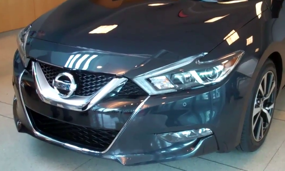 2016 Nissan Maxima Walk-around