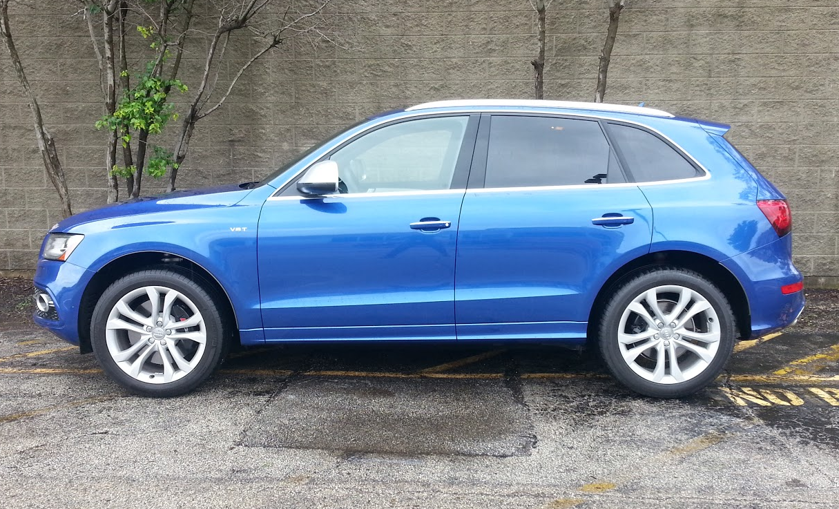 Audi Sq5 profile