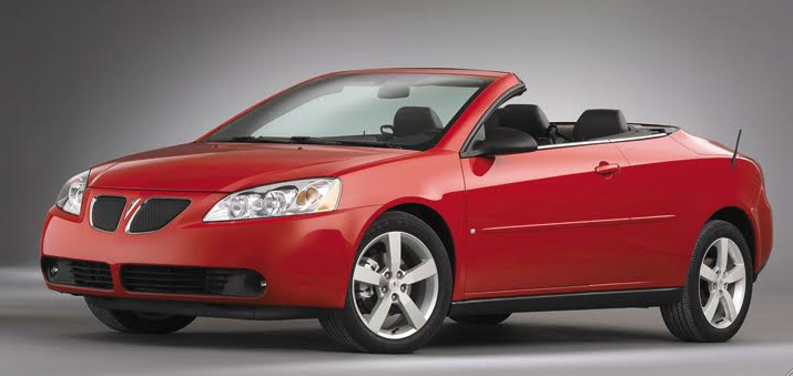 future collectible 2006 pontiac g6 gtp convertible the. Black Bedroom Furniture Sets. Home Design Ideas