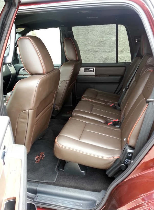 Expedition King Ranch interior