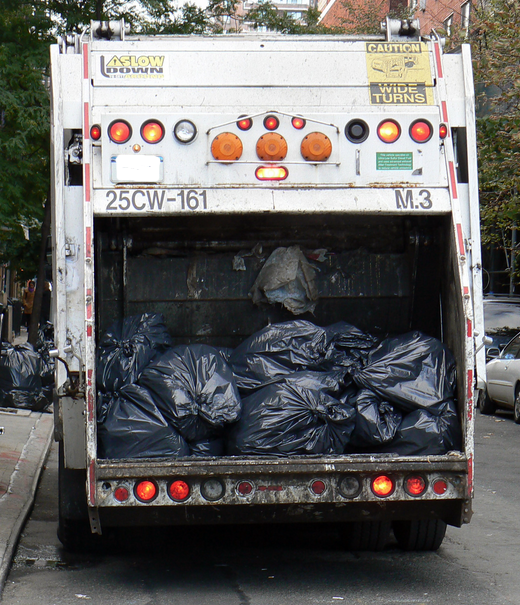 New York Garbage Truck