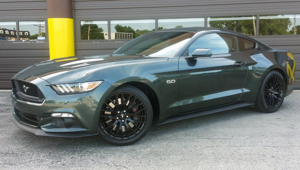 2015 Ford Mustang GT Green