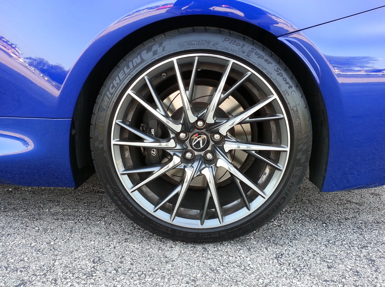 Lexus RC-F Wheels