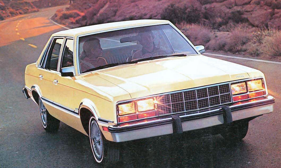 1981 Ford Fairmont, Ford Fox Platform