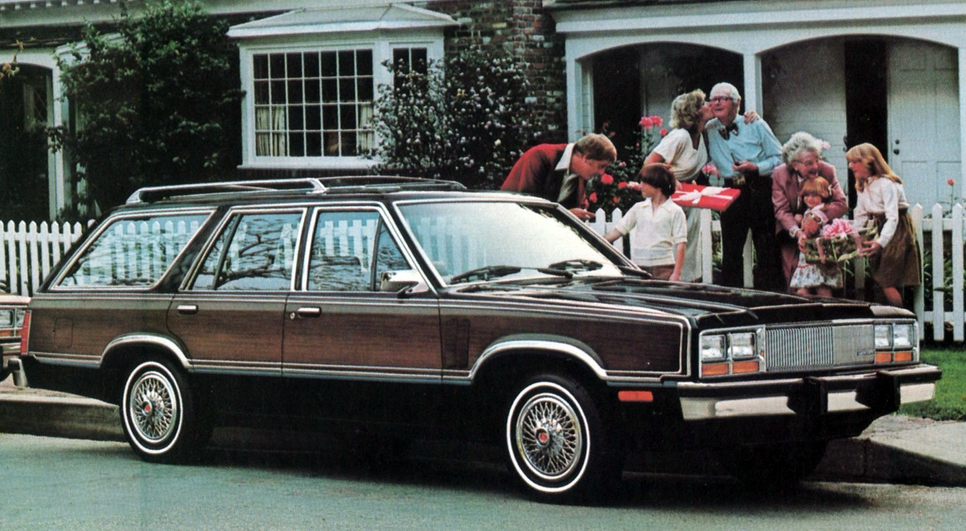 Downsized Like Crazy: The Fox-Platform Fords of 1981 | The ...