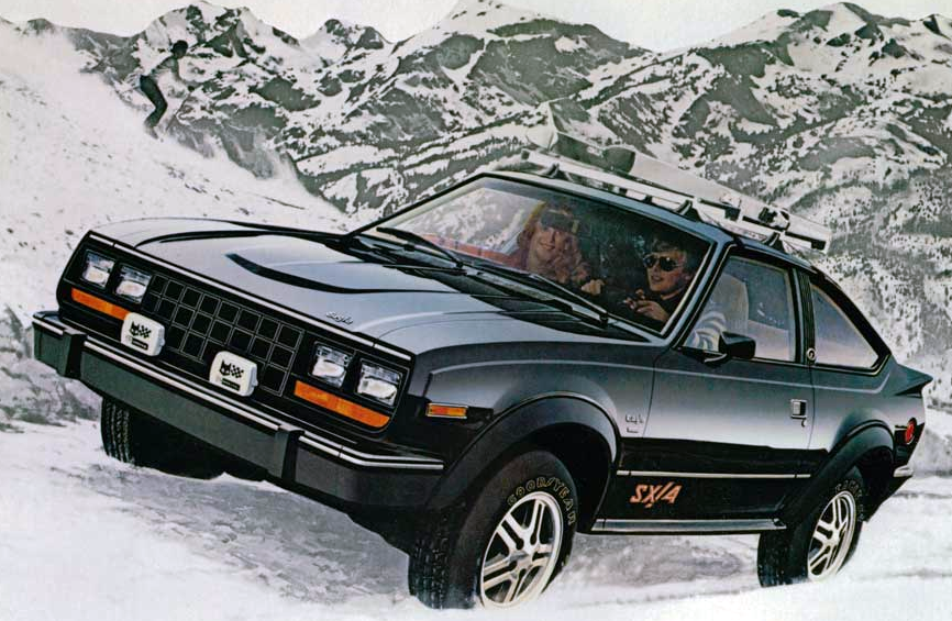 1981 AMC Eagle SX/4, Sporty Coupes of 1981