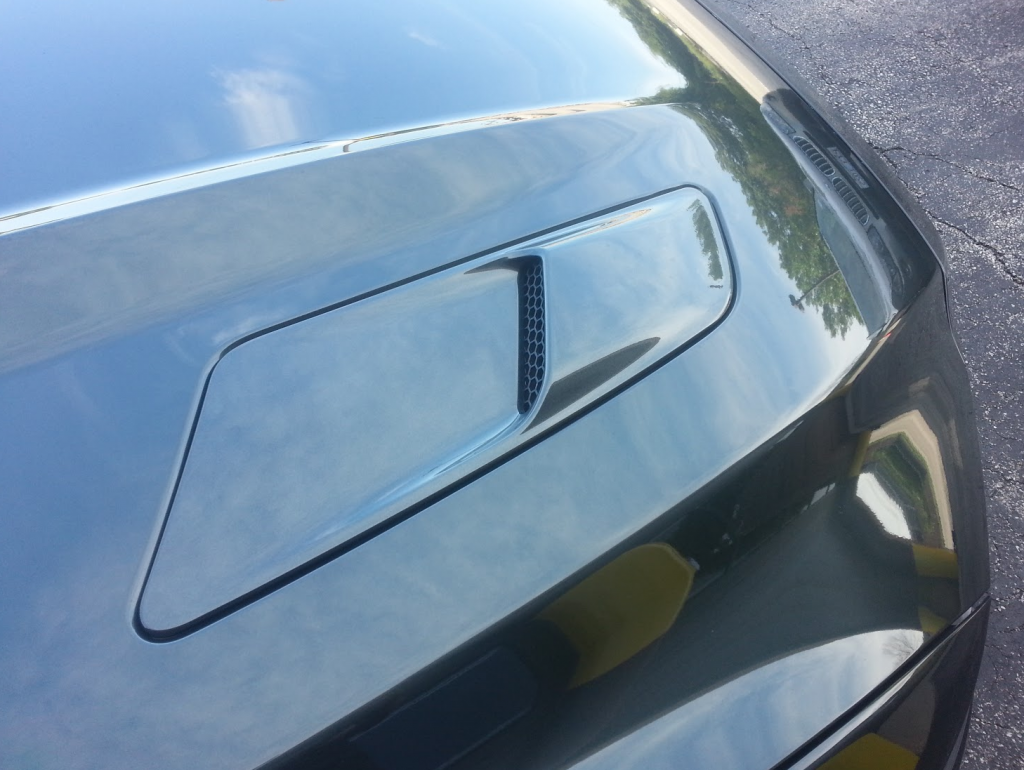 2015 Ford Mustang Hood Scoop