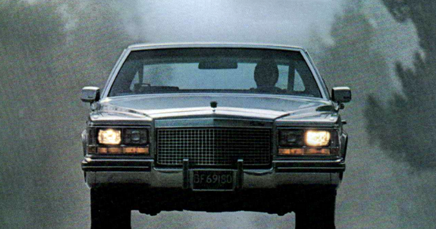 1981 Cadillac Fleetwood, Slowest Cars of 1981