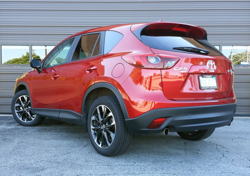 Aag X on 2016 mazda cx 5 grand touring