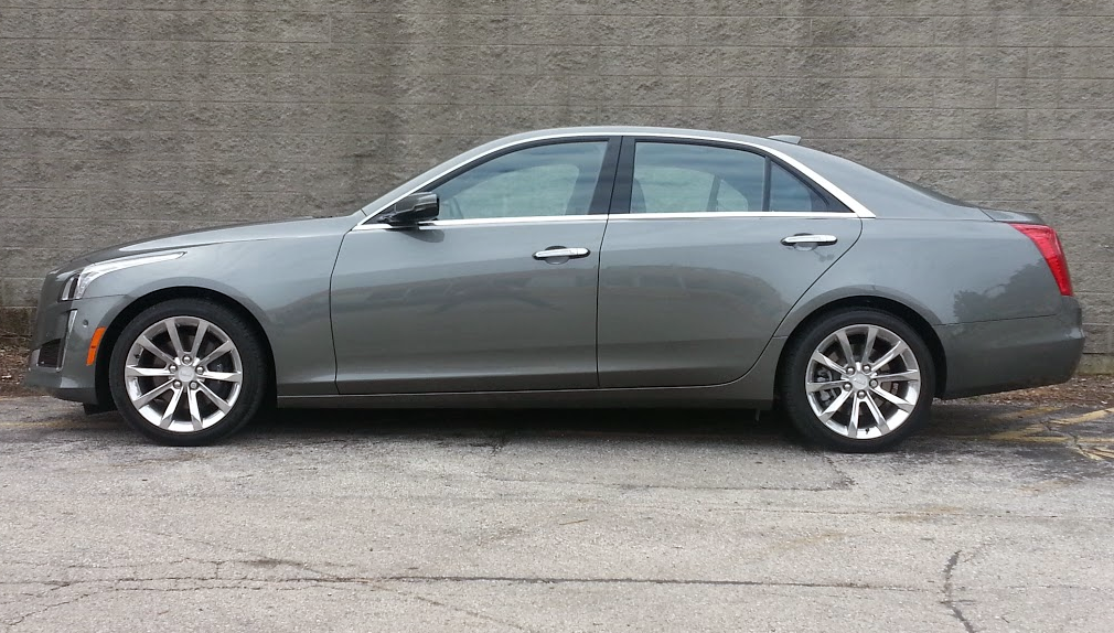 Test Drive: 2016 Cadillac CTS 3.6 AWD | The Daily Drive ...