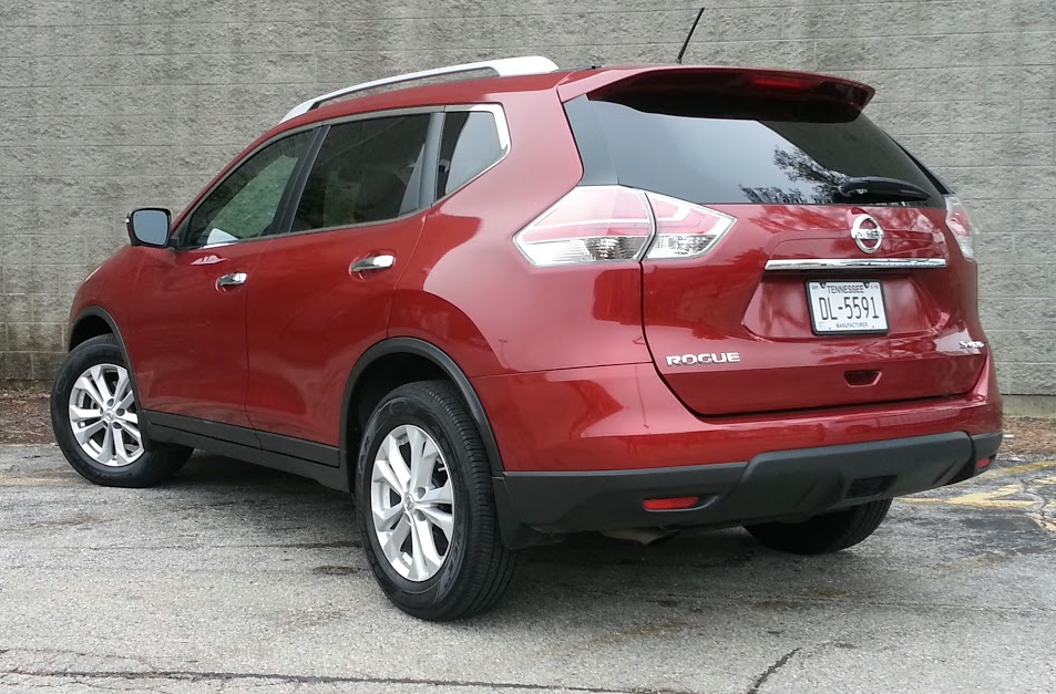 2015 Rogue SV rear view