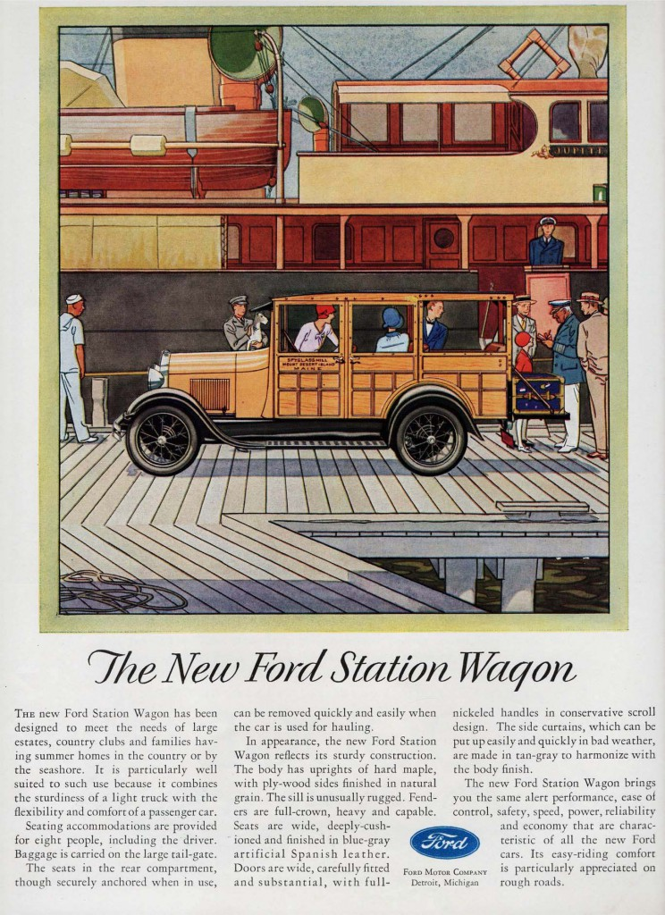 1929 Ford Station Wagon ad