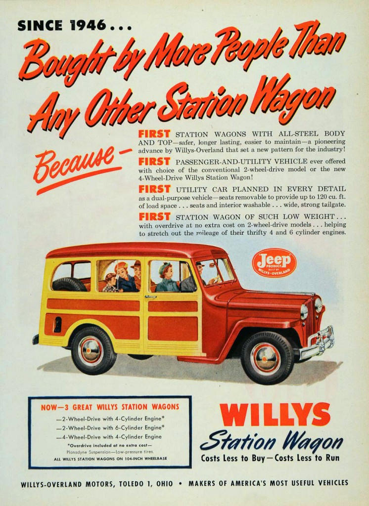 Longroof Madness 13 Classic Ads Featuring Station Wagons
