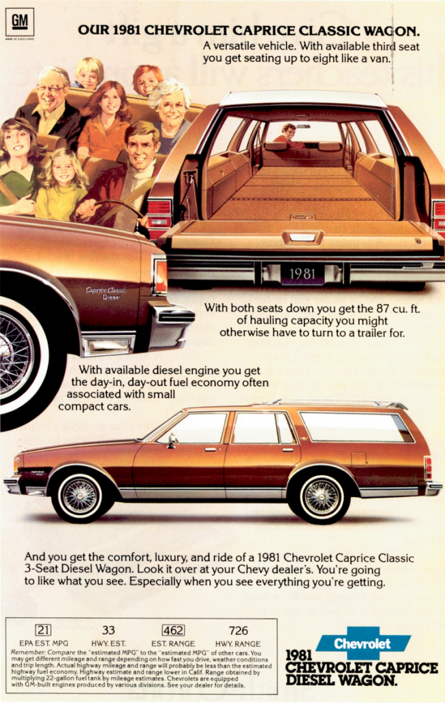 1981 Chevy Caprice Wagon