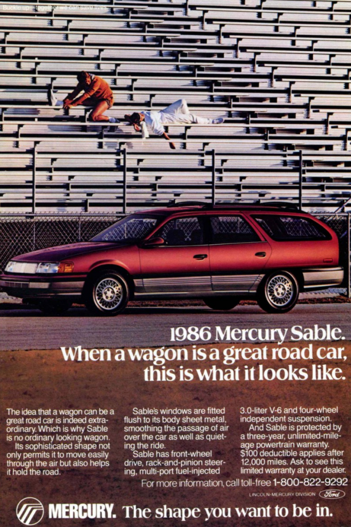 1986 Mercury Sable Wagon