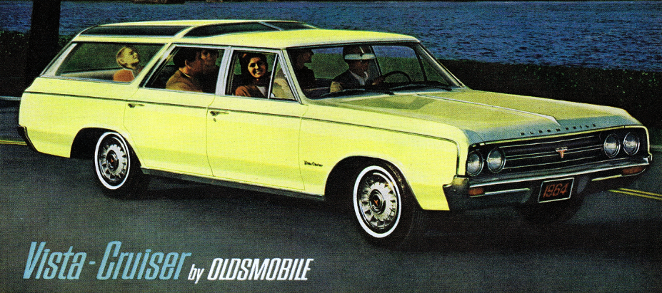 1964 Vista Cruiser, Classic Ads Featuring Station Wagons