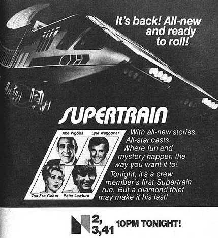 NBC Supertrain promo