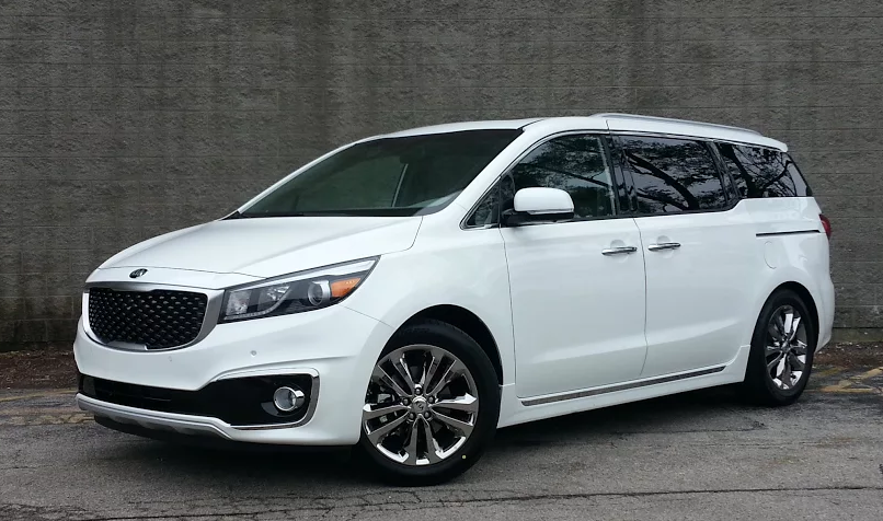 Test Drive 2016 Kia Sedona Sx L Limited The Daily Drive