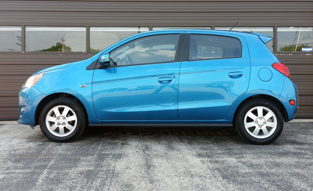 2015 Mitsubishi Mirage profile