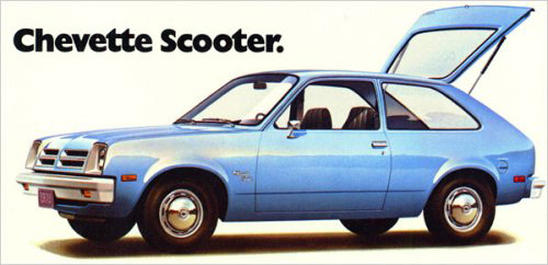 1976 Chevrolet Chevette Scooter