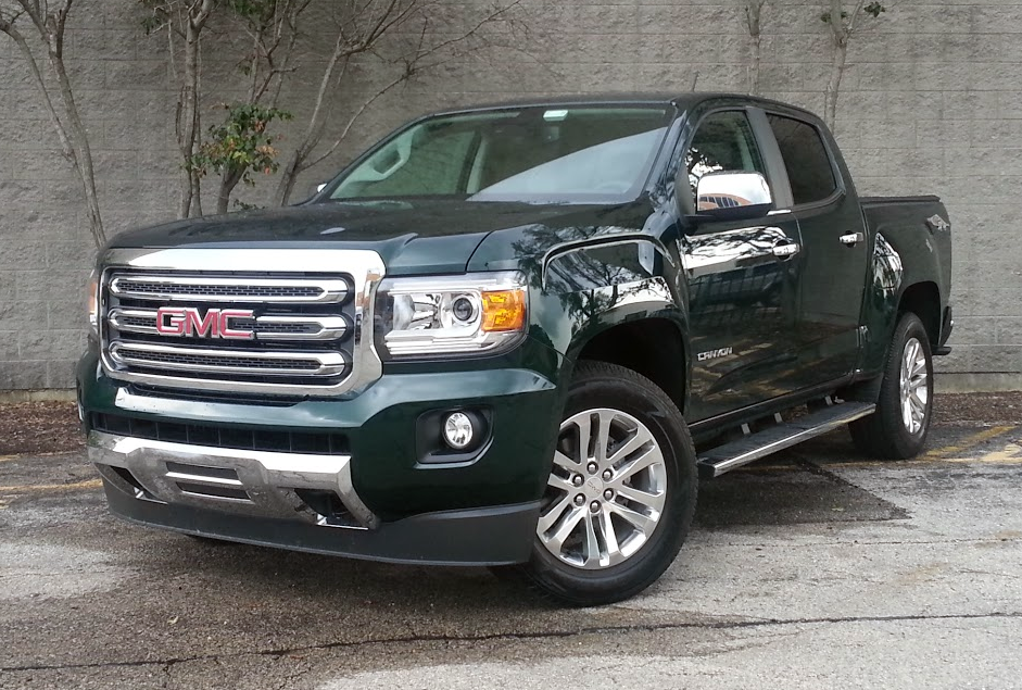 Test Drive 2015 Gmc Canyon Slt The Daily Drive