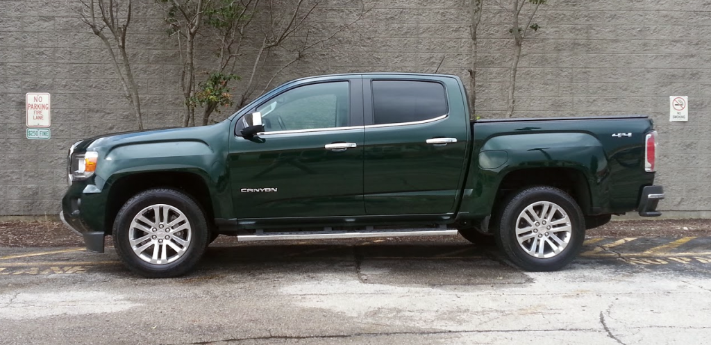2015 GMC Canyon profile