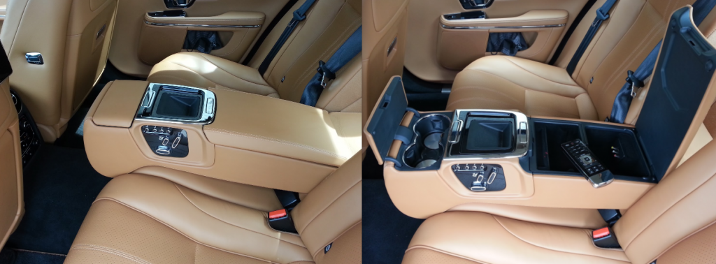 Jaguar XJL Premium Rear Seat Package