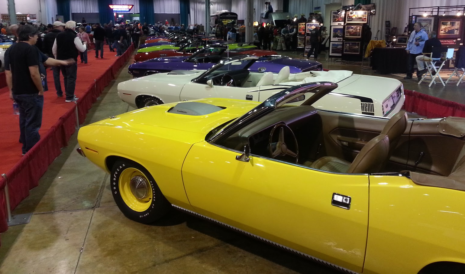 Muscle Car and Corvette Nationals, 2015 Muscle Car and Corvette Nationals