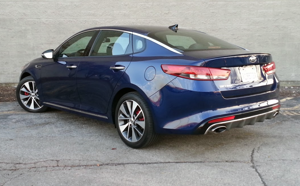 Test Drive 2016 Kia Optima Sx L The Daily Drive