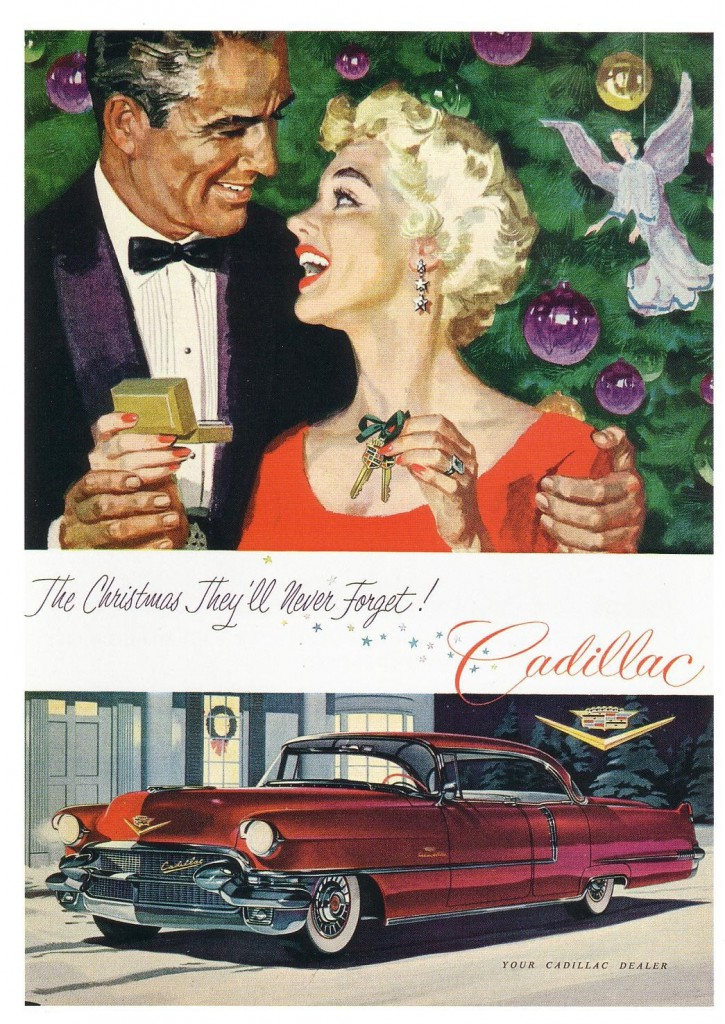 Car Seat Check >> Christmas Madness! 6 Classic Car Ads With A Holiday Theme ...