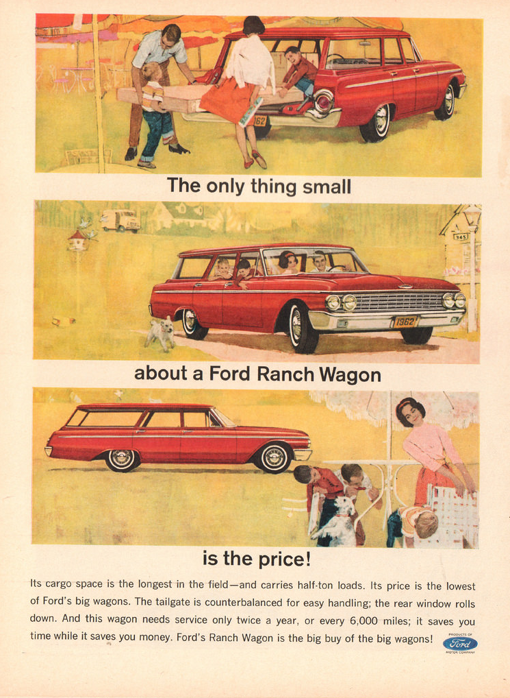 1962 Ford Ad