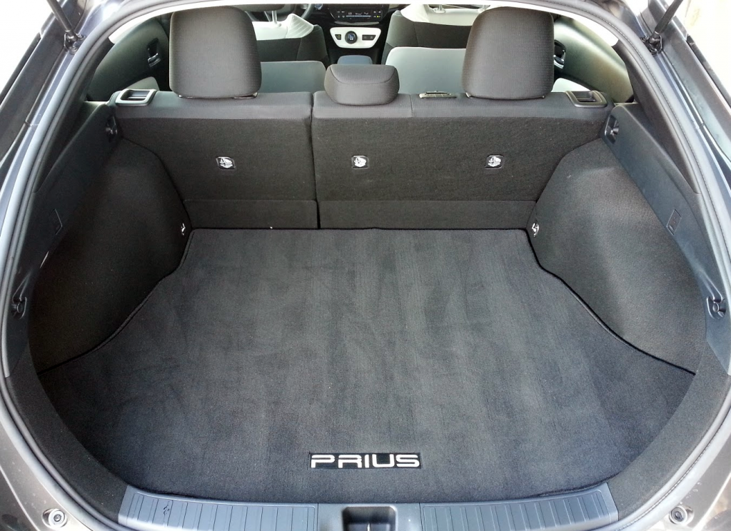 prius cargo volume seats down. Black Bedroom Furniture Sets. Home Design Ideas
