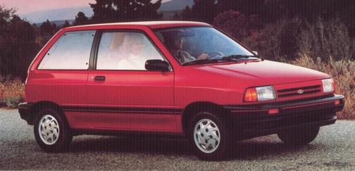 1987 Ford Festiva