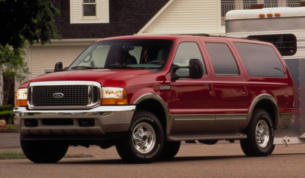 2000 Ford Excursion, stupid cars