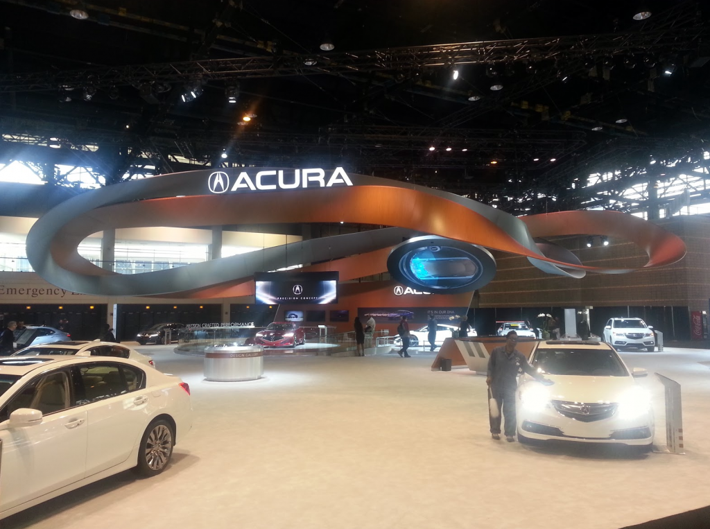 Acura Display at the 2016 Chicago Auto Show
