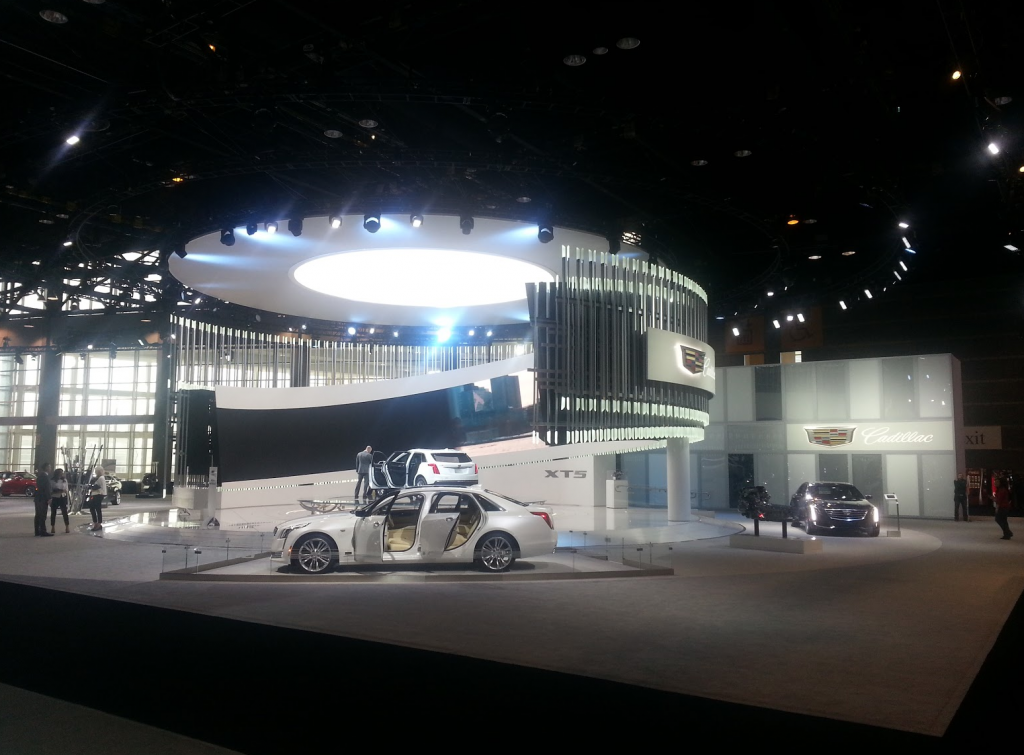 Cadillac at the 2016 Chicago Auto Show