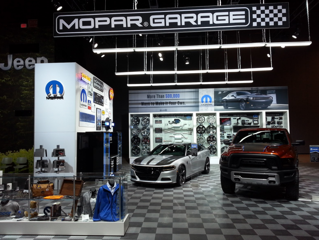 Mopar Display at the Chicago Auto Show
