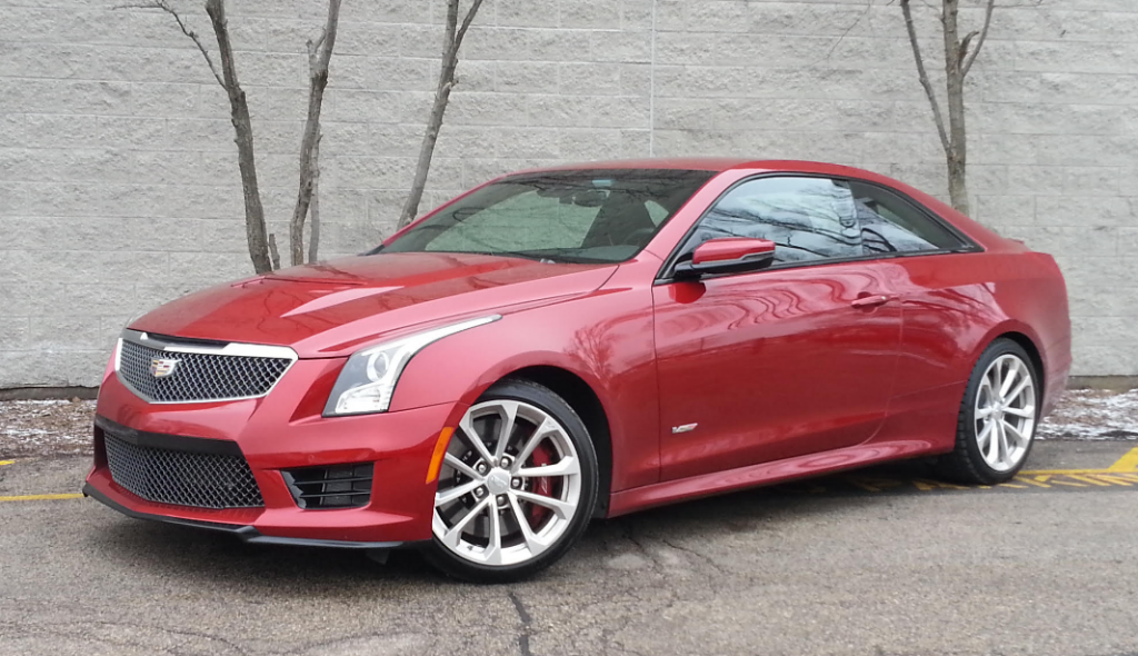 Cadillac Ats V Coupe >> Test Drive 2016 Cadillac Ats V Coupe The Daily Drive
