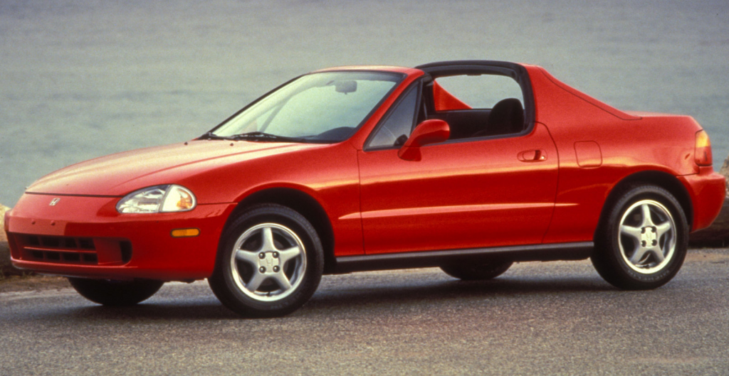1993 Honda Del Sol, Cars You Never See Anymore