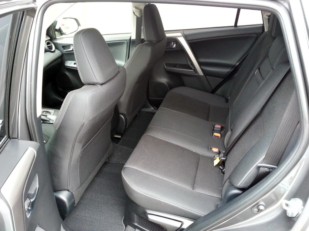 RAV4 Hybrid second row seating
