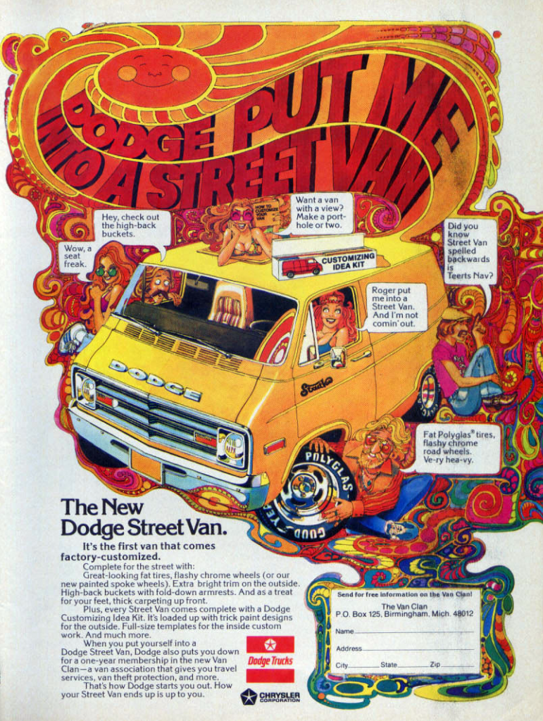 Vannin Madness 5 Classic Van Ads The Daily Drive Consumer Guide The Daily Drive Consumer Guide