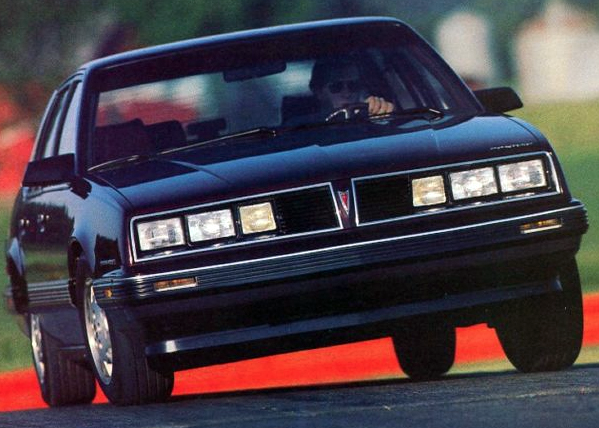 1985 Pontiac 6000 STE, Best-Looking Sedans of 1985