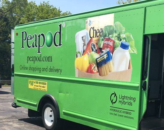 Hydraulic Hybrid Peapod Delivery Truck What Is A