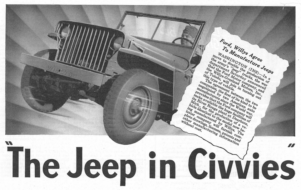 1942, Willys