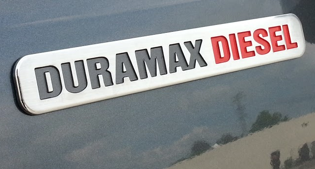 Duramax Diesel Badge, Colorado