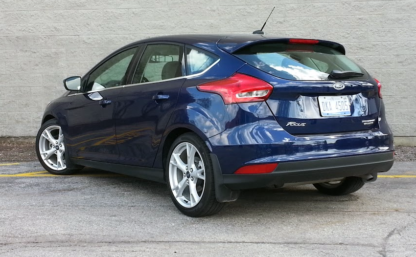 2016 Ford Focus In Kona Blue