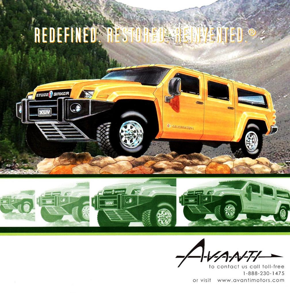Studebaker XUV Brochure