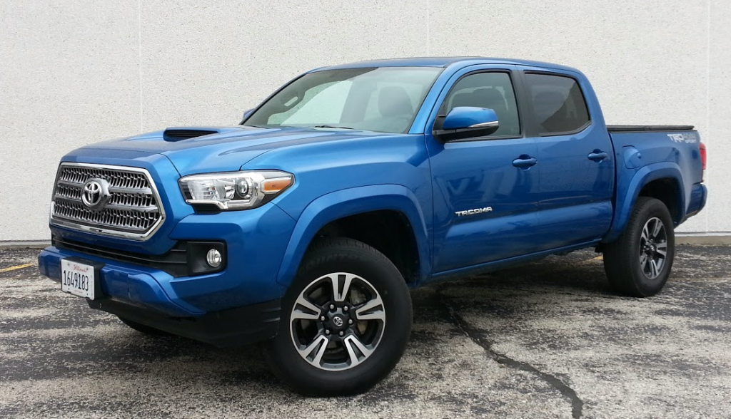 Toyota Tundra Bed Cover >> Test Drive: 2016 Toyota Tacoma TRD Sport | The Daily Drive ...