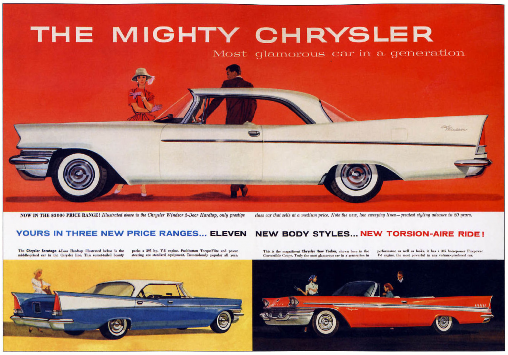 1957 Chrysler Ad