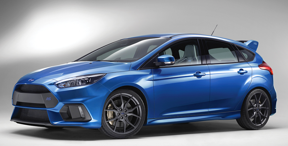 Ford's all-new Focus RS makes its global public debut at the Geneva Motor Show; introducing innovative technologies including Ford Performance All-Wheel-Drive, delivering the ultimate fun-to-drive experience.